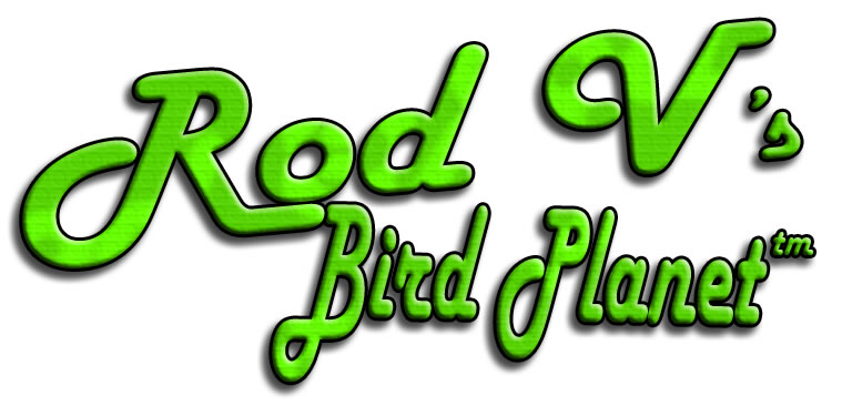 logo for Rod V's Bird Planet